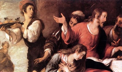 Banquet at the House of Simon by Bernardo Strozzi