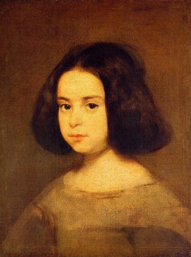 Portrait of a Little Girl by Diego Velázquez