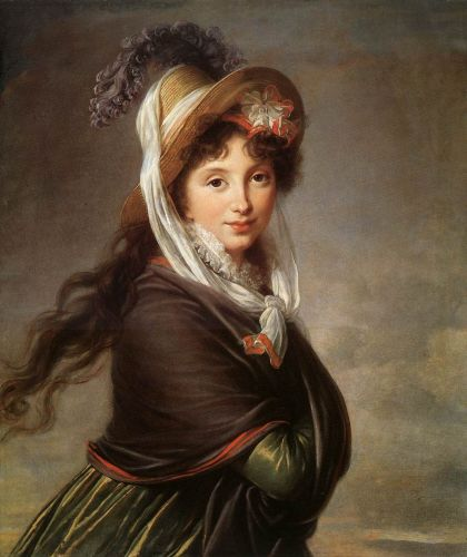 Portrait of a Young Woman by Elisabeth Vigée-Lebrun