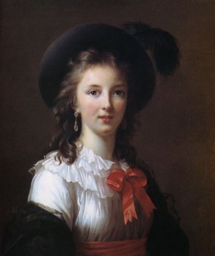 Self Portrait at 26 by Elisabeth Vigée-Lebrun