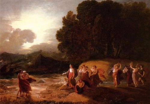 Calypso's Reception of Telemachus and Mentor by Benjamin West