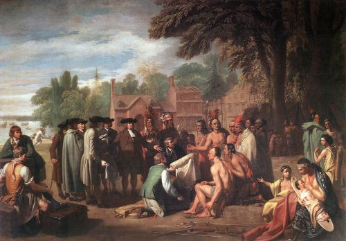 The Treaty of Penn with the Indians by Benjamin West