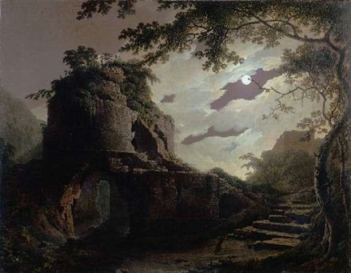 Virgil's Tomb by Joseph Wright